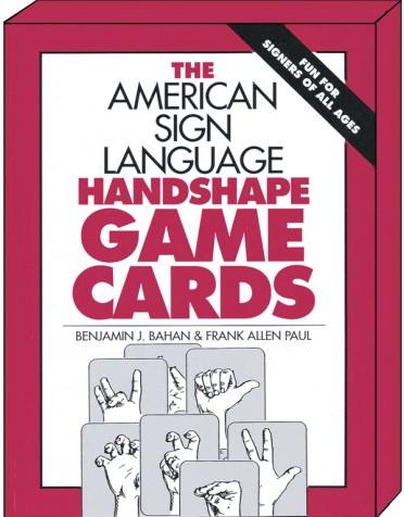 ASL Handshape Game Cards