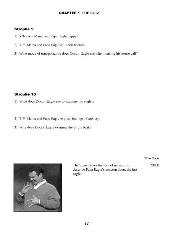 ASL Literature Series - Student Workbook Set