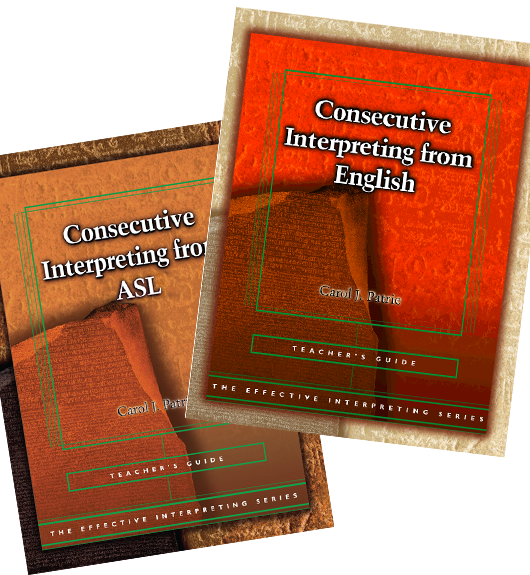 EIS Consecutive Interpreting Teacher's Set BOGO