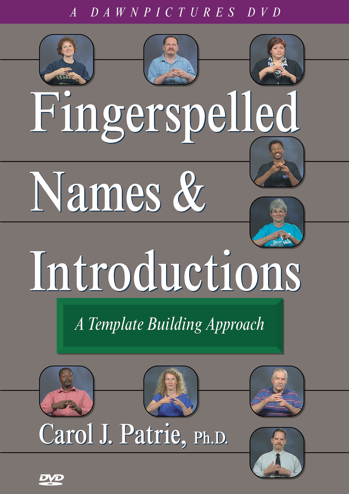 Fingerspelled Names & Introductions: A Template Building Approach