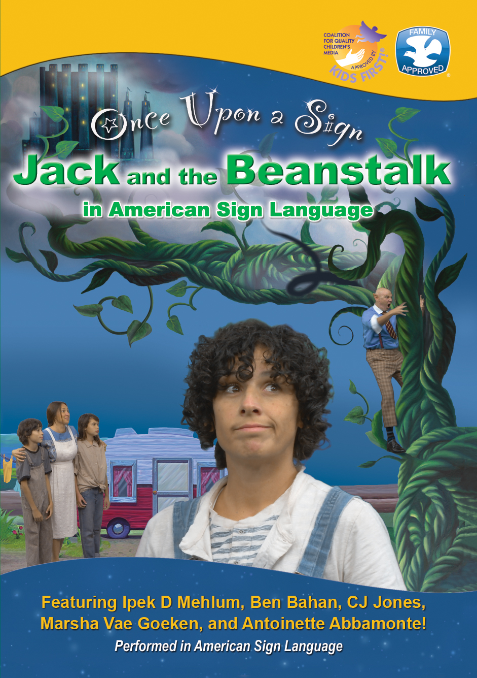 Once Upon a Sign: Jack and the Beanstalk
