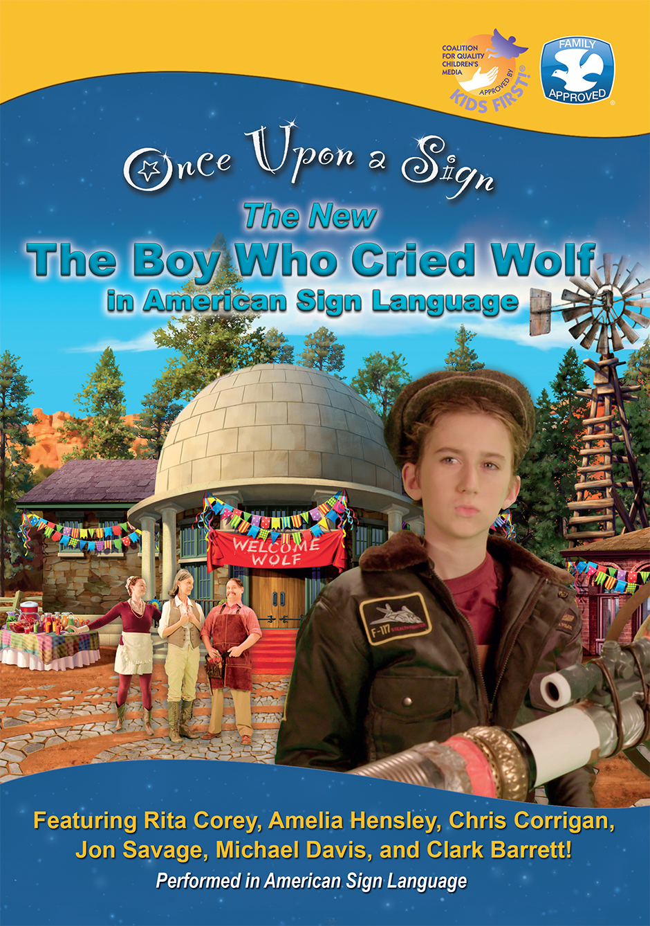 Once Upon a Sign: The Boy Who Cried Wolf