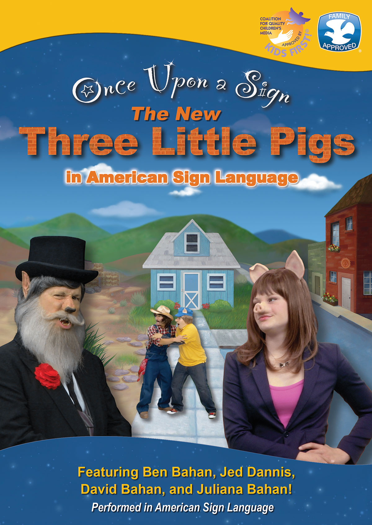 Once Upon a Sign: Three Little Pigs