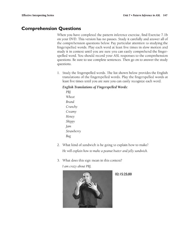 The Effective Interpreting Series: Cognitive Processing Skills in ASL - Teacher's Set