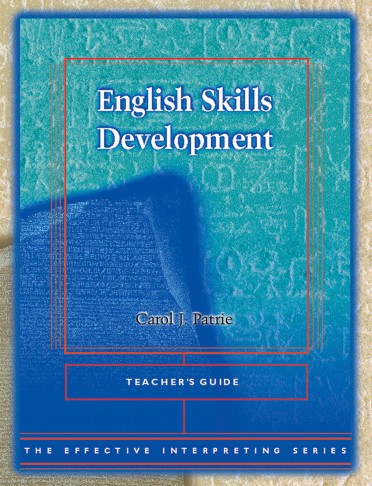 The Effective Interpreting Series: English Skills Development - Teacher's Set